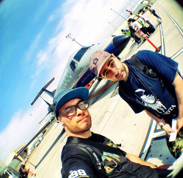 koncept and j57 private jet